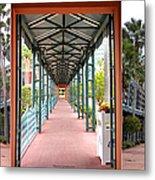 Swan And Dolphin Resort Walt Disney World 3 Panel Composite Metal Print