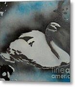 Swan Dream Metal Print