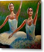 Swan Lake II Metal Print by John  Nolan