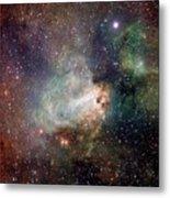 Swan Nebula (m17) Metal Print