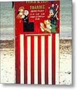 Swanage Punch And Judy Metal Print