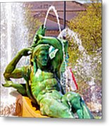 Swann Fountain Gods Metal Print