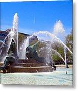 Swann Fountain Metal Print