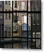 Swans Love Amsterdam Metal Print