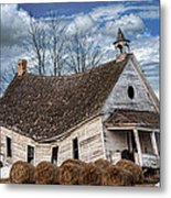 Sway Back School House Metal Print