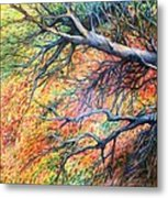 Sway Dancing Trees Metal Print