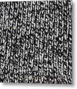 Sweater Background Metal Print
