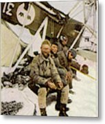 Swedish Aviator Lundborg, Who Metal Print