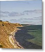 Swedish Coastline Metal Print
