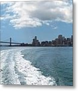 Sweeping Away From The City Metal Print