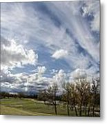 Sweeping Heaven Metal Print