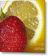 Sweet And Sour Metal Print
