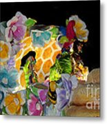Sweet As Honey - Honey Bees Metal Print