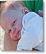 Sweet Baby Bubbles Art Prints Metal Print