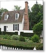 Sweet Home In Colonial Williamsburg Metal Print