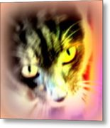 The Sweet Hunter With The Yellow Eyes  Metal Print