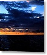 Sweet Mystery... Last Glimmering Off Guadeloupe Metal Print