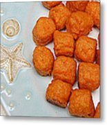 Sweet Potato Puffs Metal Print