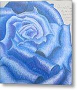 Sweet Roses Be Metal Print