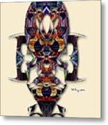 Sweet Symmetry - Projections Metal Print