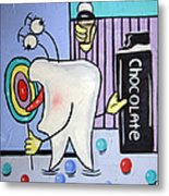 Sweet Tooth Metal Print by Anthony Falbo