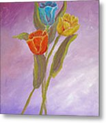 Sweet Tulips Metal Print