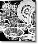 Sweetgrass Baskets Metal Print