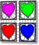 Sweetheart Metal Print by Cindy Edwards