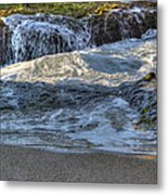 Swell And Receed  Metal Print