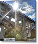 Swift Island Bridge 1 Metal Print