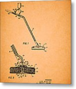Swimming Pool Cleaning Device Patent Metal Print