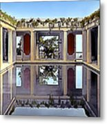 Swimming Pool Metal Print
