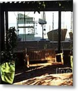 Swing In The Arbor Metal Print