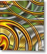 Swirl On Swirl On Swirl On Swirl Metal Print