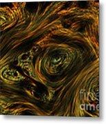 Swirling 2 Metal Print