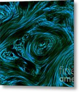 Swirling 3 Metal Print