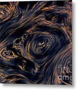 Swirling 4 Metal Print