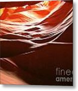 Swirling Layers Of Sandstone Metal Print