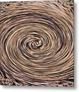 Swirling Sand Metal Print