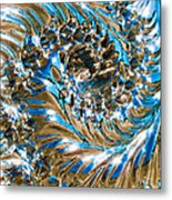 Swirly Mirror Metal Print