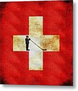 Swiss Alpine Metal Print by Jared Johnson