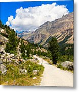Swiss Mountains Metal Print