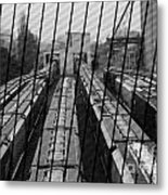 Switch Yard For Box Cars Metal Print