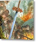 Sword of Magic Metal Print