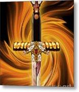 Sword Of The Spirit Metal Print