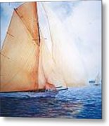Syce Metal Print by Marguerite Chadwick-Juner