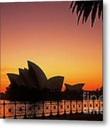 Sydney Harbour Sunrise Metal Print