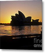 Sydney Morning Metal Print