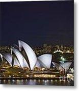 Sydney Opera House In Australia Metal Print