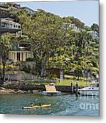 Sydney Seaside Villas Three Metal Print